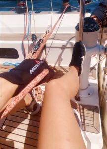 Clare Southwell sailing musto